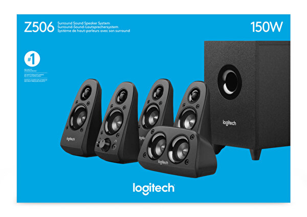 Logitech Z506 5+1 Surround Ses Sistemi (980-000431)