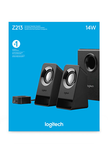 LOGITECH Z213 2.1 HOPARLOR ( OUTLET )