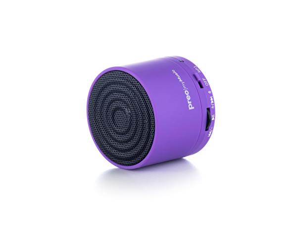 Preo My Music mm05 Mini Bluetooth Hoparlör (Mor)