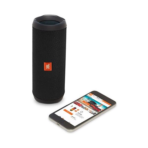 Jbl Flip 4 Su Geçirmez Bluetooth Hoparlör (Siyah)