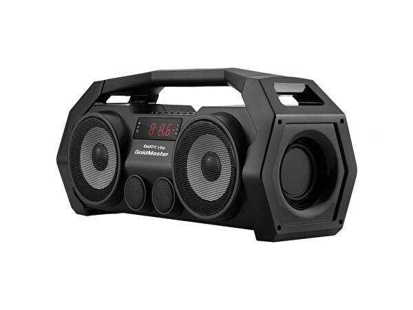 Goldmaster Enjoy 100 Bluetooth Radyo Sd Usb Li Ses Sistemi (Siyah)