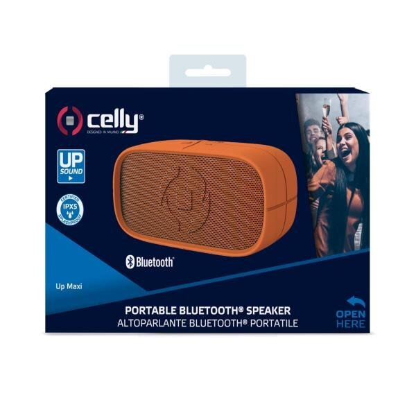 Celly Maxi Bluetooth Hoparlör (Turuncu)