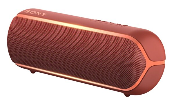 Sony SRS-XB22 Bluetooth Hoparlör - Kırmızı