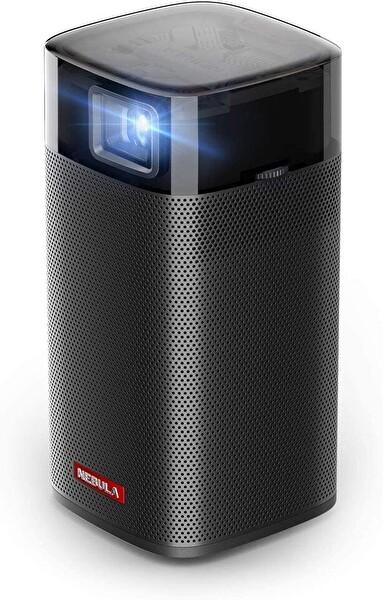 Anker Nebula Apollo D2410 Akıllı Taşınabilir WiFi Kablosuz Projeksiyon Cihazı TV Box Hoparlör Siyah