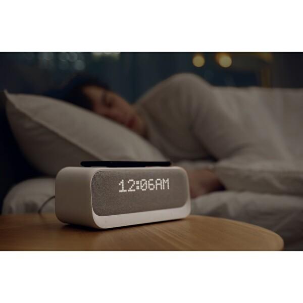 Anker Wakey Bluetooth 5.0 Hoparlör, QI Hızlı Kablosuz Şarjlı Çalar Saat Radyo