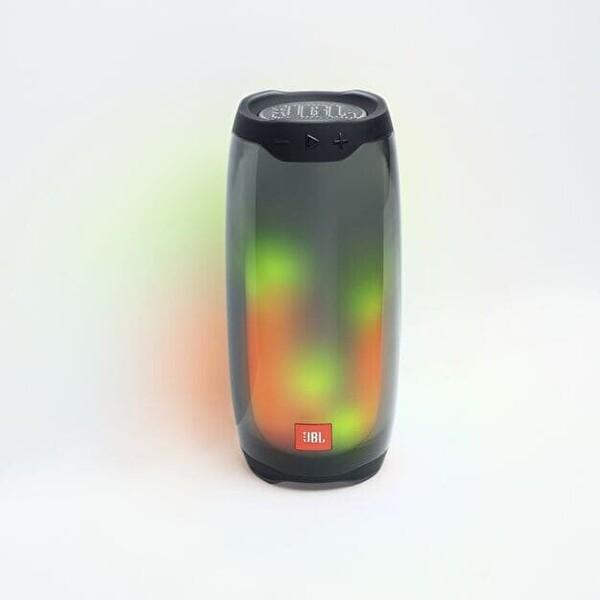 JBL Pulse4, Işıklı Bluetooth Hoparlör, Siyah