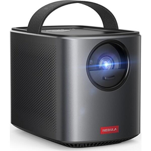 Anker Nebula Mars II Pro D2323 Akıllı Taşınabilir WiFi Kablosuz Projeksiyon Cihazı TV Box Hoparlör Siyah