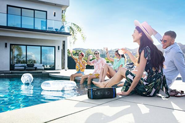 Sony SRS-XB33 Extra Bass Taşınabilir Bluetooth Hoparlör Mavi