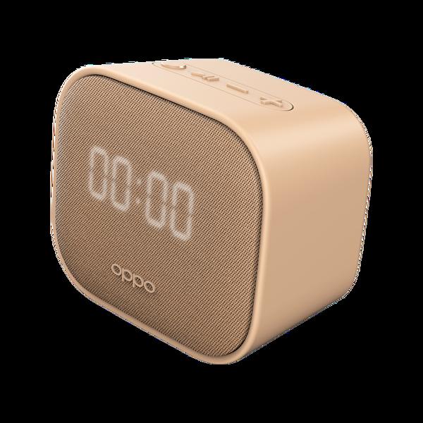 Oppo OBMC03 Led Saat Göstergeli 3W Bluetooth Hoparlör Pembe