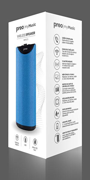 Preo My Music MM02 S Bluetooth Speaker Mavi
