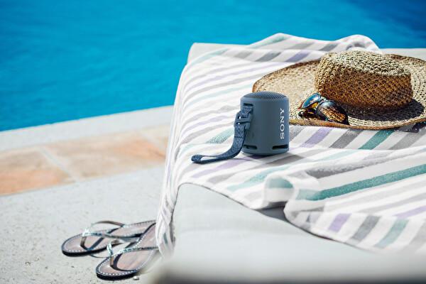 Sony SRSXB13 Extra Bass Taşınabilir Kablosuz Hoparlör Mavi