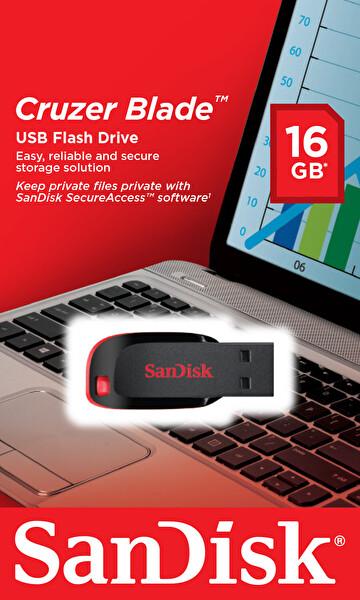 Sandisk Sdcz50-016G-B35 Cruzer Blade 16GB Usb Bellek