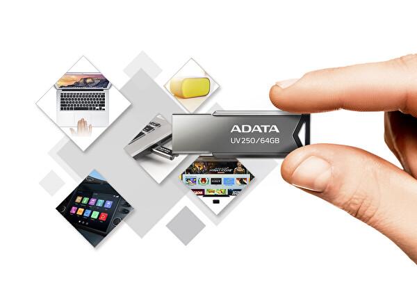 Adata 16GB UV250 Gümüş USB2.0 Bellek