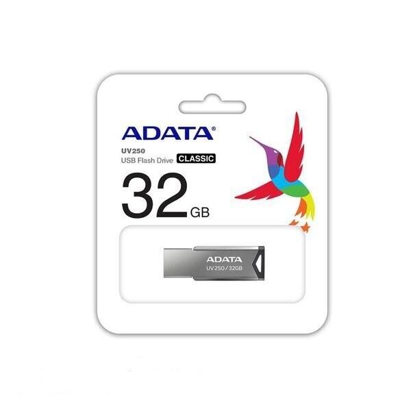 Adata 32GB UV250 Gümüş USB2.0 Bellek