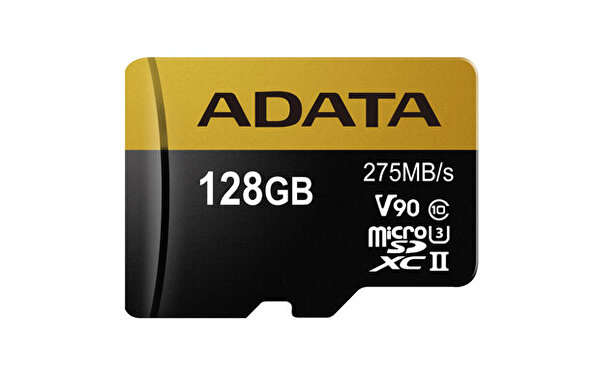 ADATA 128GB ADAPT. MICROSDXC UHS-II U3 KART 275/155MB/sClass10