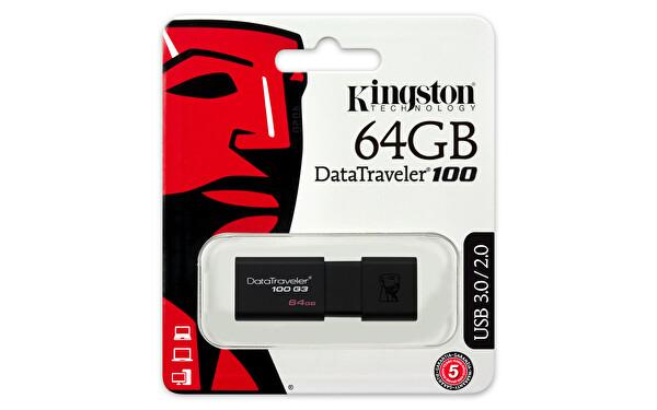 Kingston 64GB USB 3.0 DataTraveler 100 G3