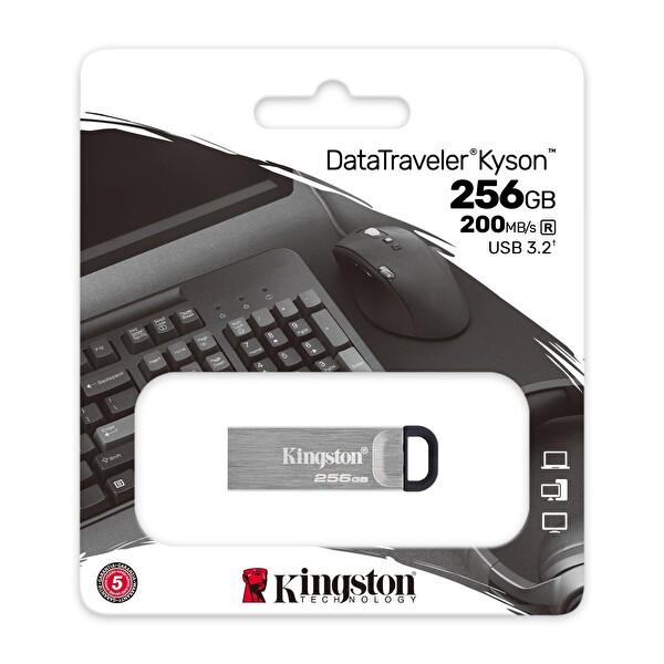 Kingston 256GB DT KYSONUSB 3.2 Dtkn 256GB Usb Bellek