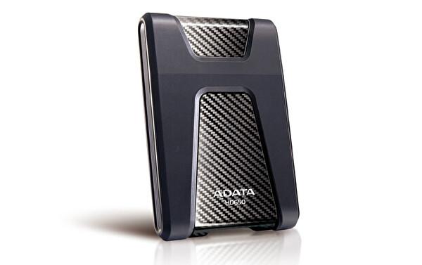 "Adata 1 TB 2,5"" HD650 Darbeye Dayanıklı USB 3.1 Taşınabilir Disk Siyah"