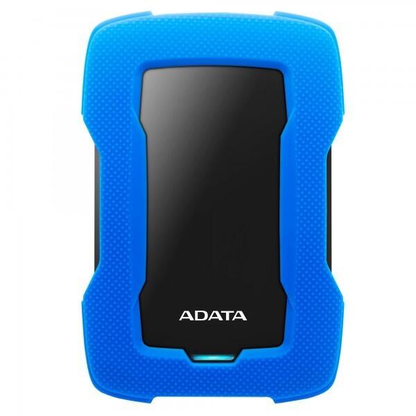 """Adata 2 TB HD330 2,5"""" Şoka Darbeye Dayanıklı Extra Slim USB 3.1 Taşınabilir Disk Mavi"""