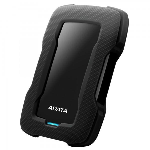 """Adata 2 TB 2,5"""" HD330 Şoka Darbeye Dayanıklı Extra Slim USB 3.1 Taşınabilir Disk Siyah"""