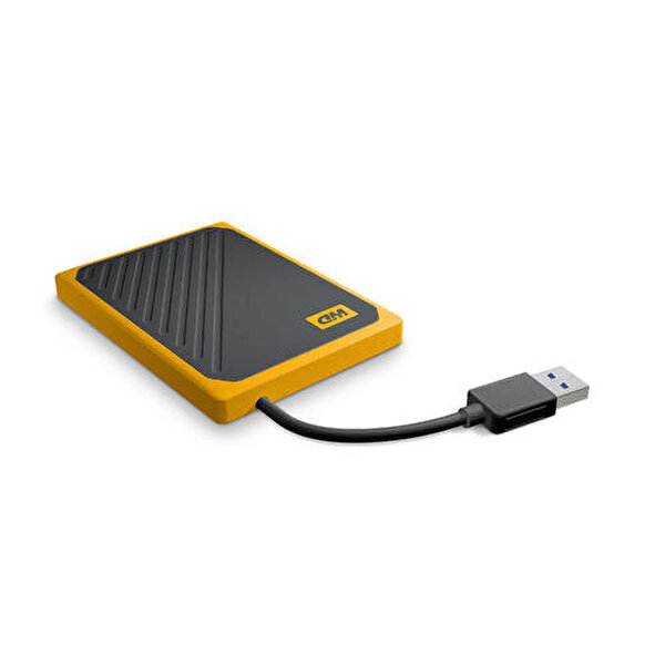 WD My Passport Go SSD 500GB Black Amber TR Harici SSD WDBMCG5000AYT-WESN
