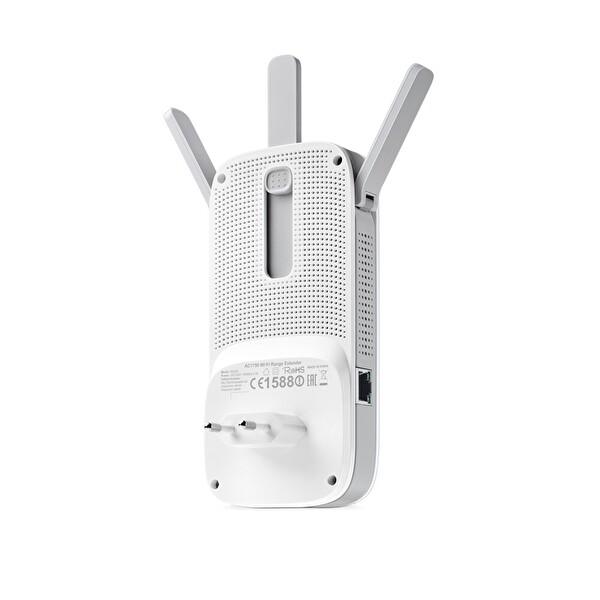 TP-Link RE450 1750 Mbps Kablosuz AC Dual Band Gigabit Port Harici Antenli Menzil Genişletici