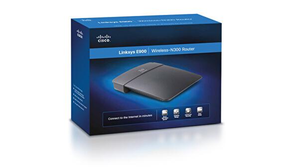 Lınksys E900 - Kablosuz-N300 Router
