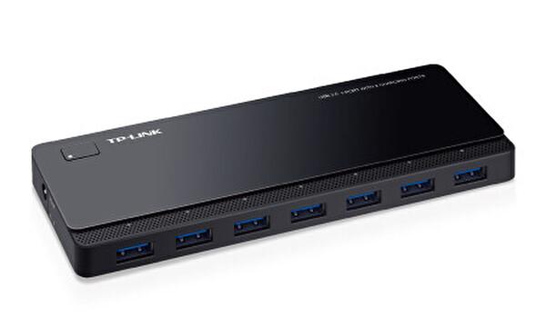 TP-Link Uh720 2 Şarj Portlu Usb 3.0 7-Portlu Hub