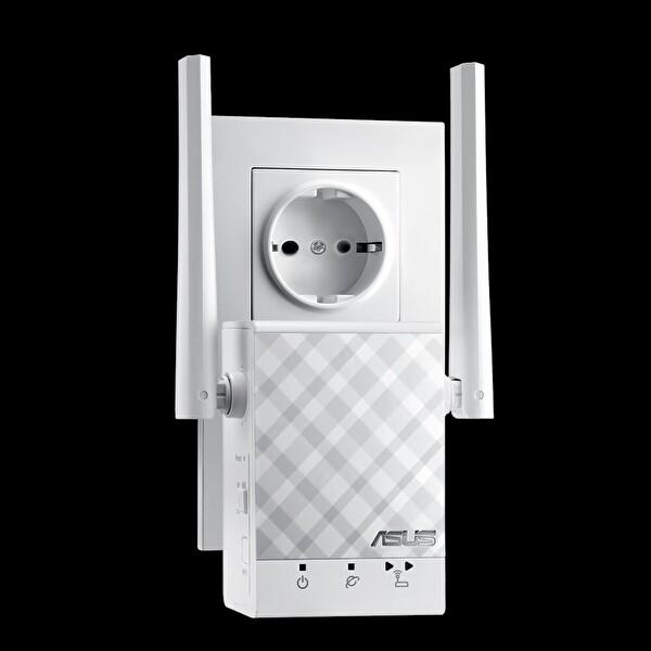 Asus Rp-Ac51 Ac750 Roaming Özellikli Menzil Arttırİçi