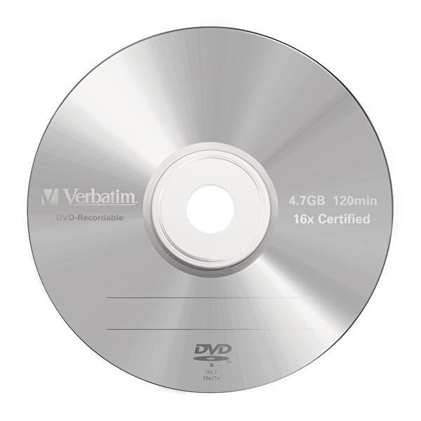 Verbatim 16X 4.7GB Jewel Case DVD-R