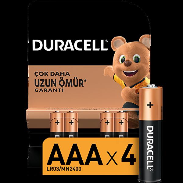 Duracell AAA Ince 4'lü Kalem Pil