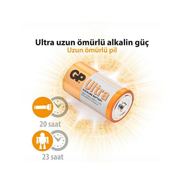 GP 14AU Orta Ultra Alkalin