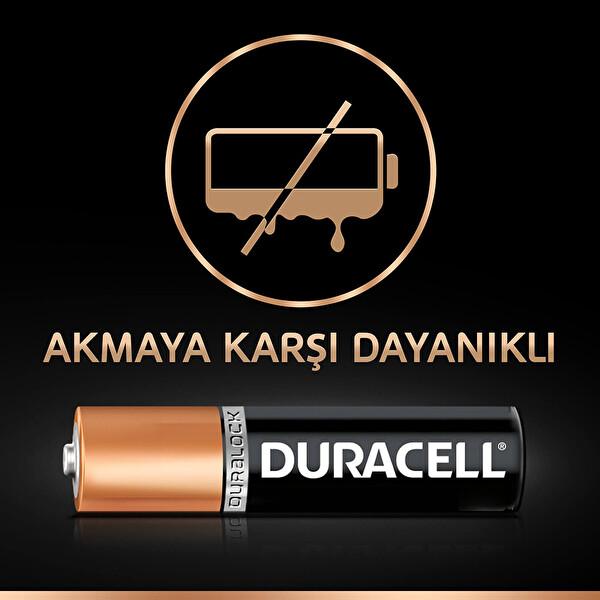 Duracell AAA 9+3 Ekonomik Paket İnce Kalem Pil