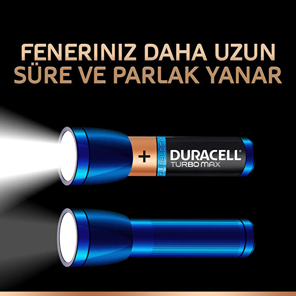Duracell AAA 4+2 Turbomax Foto/Oyuncak Ince Pil
