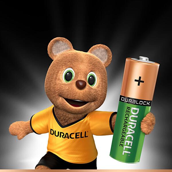Duracell 4 lü 2500 mAh AA Şarj Edilebilir Pil