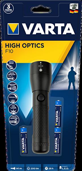 Varta 18810101421 3W Led High Optics Light 3AAA