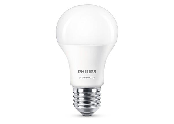 Philips Led Sceneswitch 60WSarı ve Beyaz Işık Normal Duy