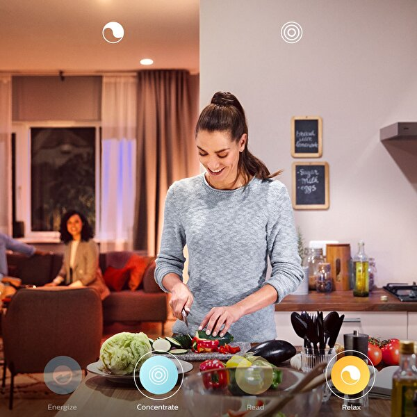 Philips Hue Renkli Bluetooth Özellikli Akıllı Ampul 2'li Ekopaket E27