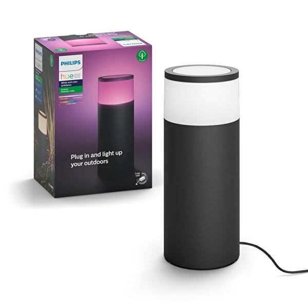 Philips Hue Calla Outdoor Akıllı Renkli Kısa Direk, Güç Adaptörü Dahildir