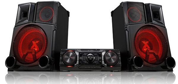 LG CM9750 3000 Watt Party Hi-Fi Sistemi