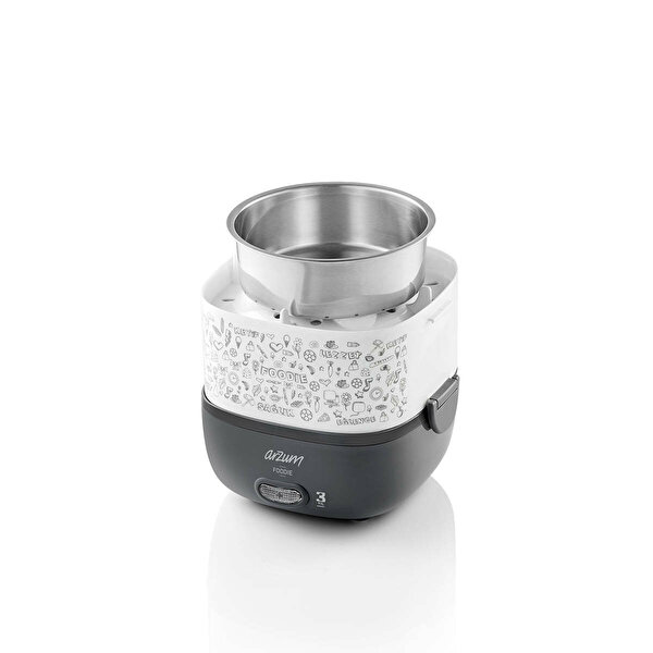 Arzum AR1073 Foodie Beyaz Modern Sefer Tası