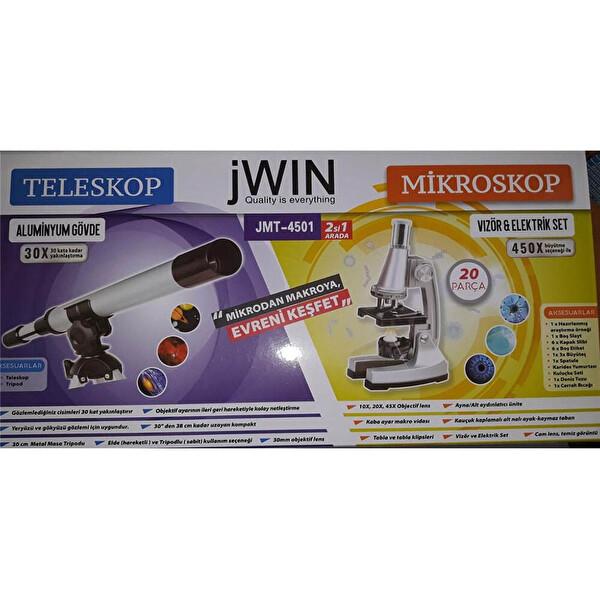 Jwin JMT-4501 Mikroskop Ve Teleskop Set