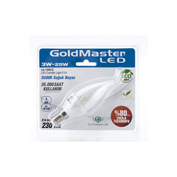 Goldmaster 106 CC Candele (Mum) Şeffaf
