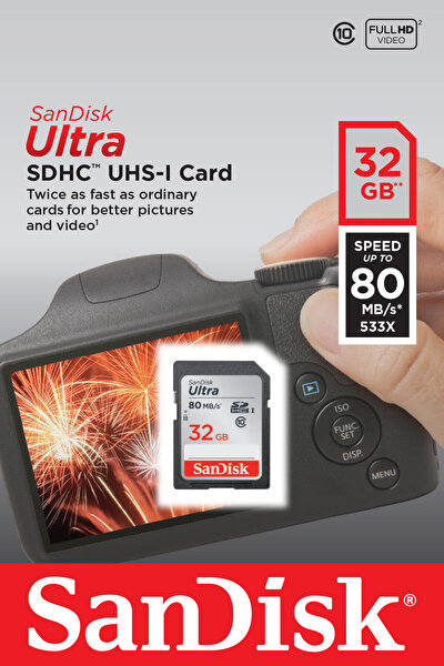 Sandisk 32 GB Hafıza Kartı (Sdsdunc-032G-Gn6In)