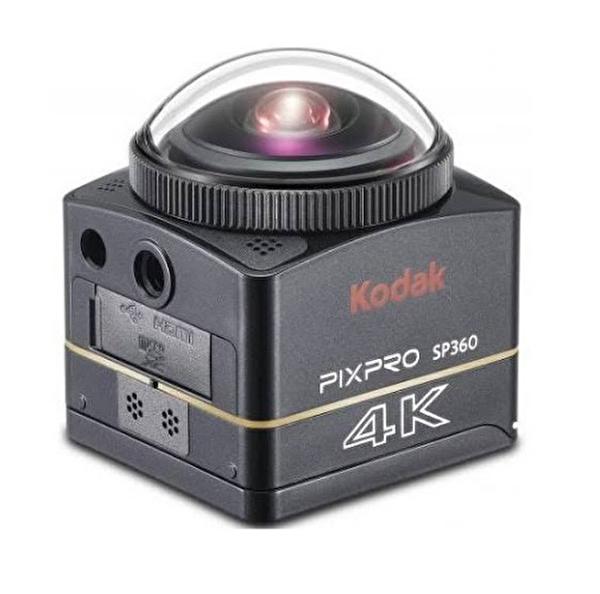 Kodak Pixpro SP360 4K VR Aksiyon Kamera Wİ-Fİ ve 4K Extrem Paket Siyah