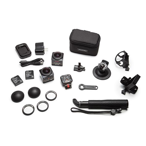 Kodak Pixpro SP360 4K Siyah Extreme Pack VR Aksiyon Kamera