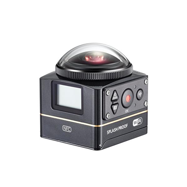 Kodak Pixpro SP360 4K Siyah - Aqua Pack Vr Aksiyon Kamera (Wİ-Fİ & 4K)