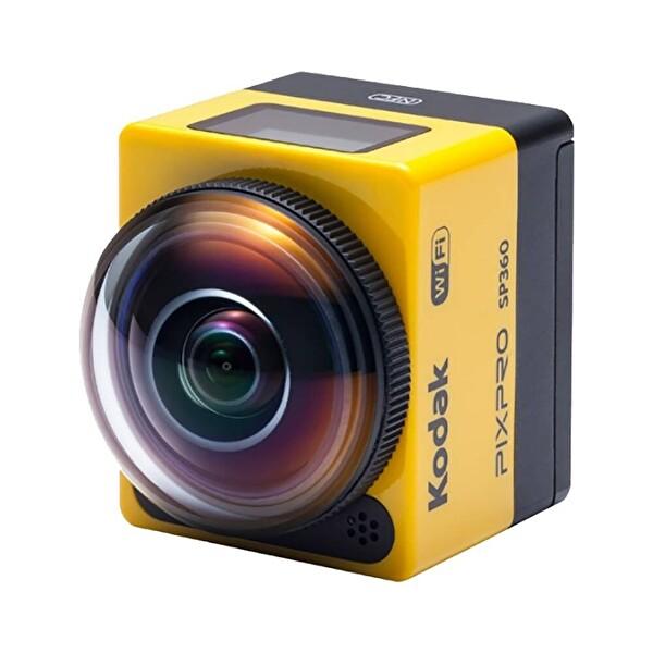 Kodak Pixpro SP360 4K Siyah - Explorer Pack VR Aksiyon Kamera (Wİ-Fİ & 4K)