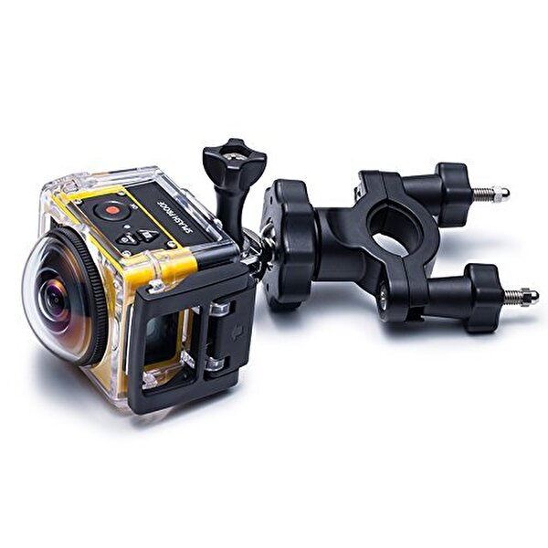 Kodak Pixpro SP360  VR Aksiyon Kamera Wİ-Fİ ve FULL HD Extreme Paket Sarı