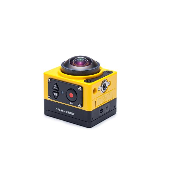 Kodak Pixpro SP360 Sarı Explorer Pack 360° VR Aksiyon Kamera